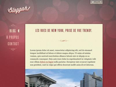Bloggah! Spip Theme - Article page webdesign
