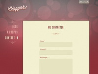 Bloggah! Spip Theme - Contact page