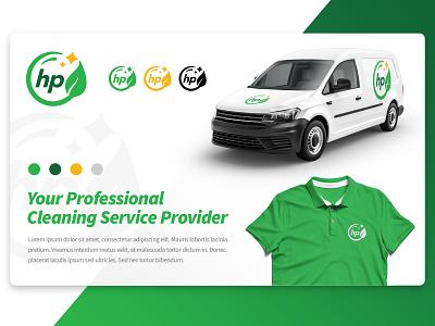 HP Branding Project typography logo vector branding design