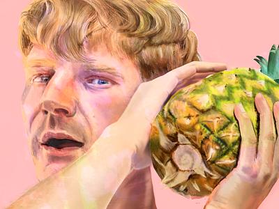 Dave Bayley dave bayley glass animals illustration