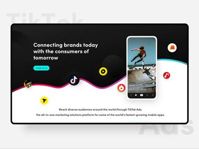 TikTok Ads - Homepage