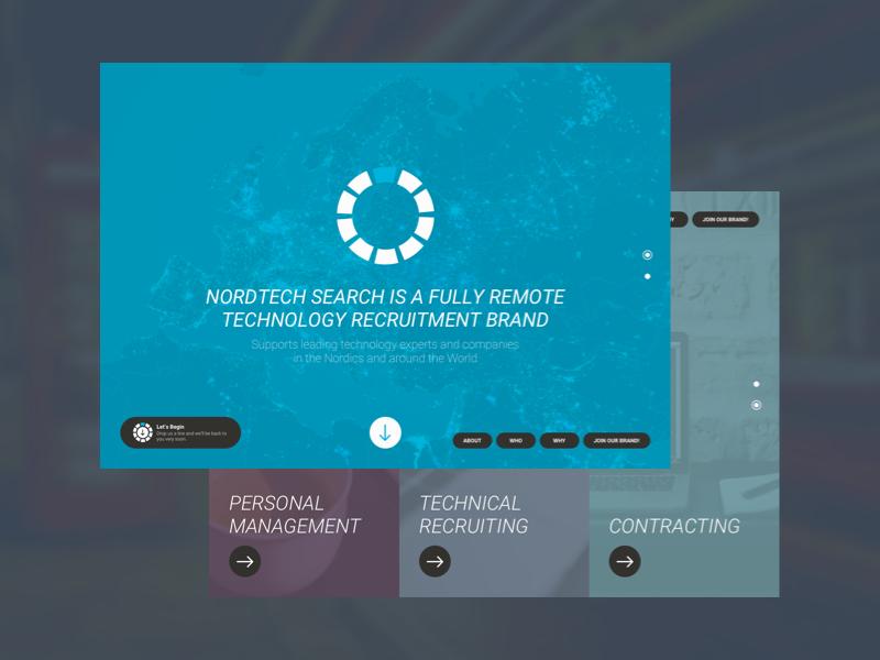 Nordtech Search mattias eriksson materik ux ui web