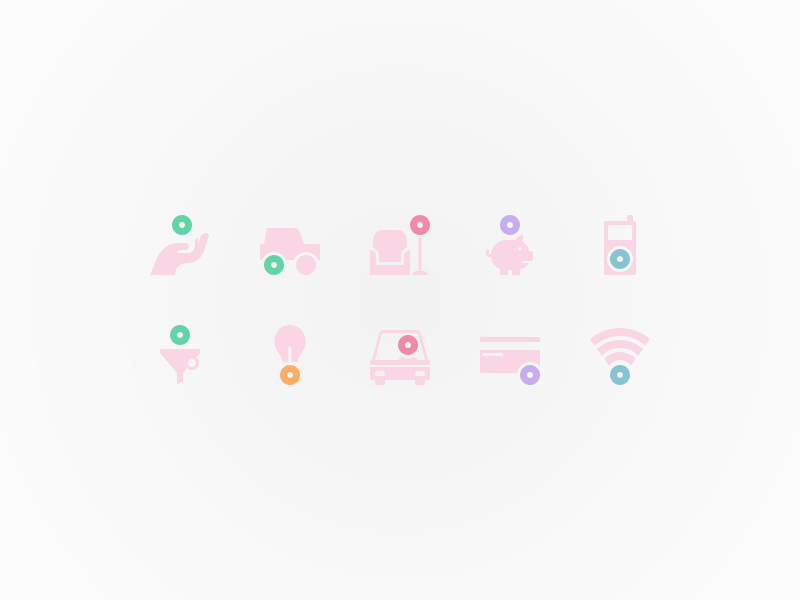 Zmarta product icons