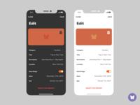 Butterfly iOS App