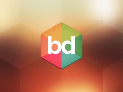 Buzzdial - Android App Icon app buzzdial honeycomb logo icon badge color colorful design boss flat