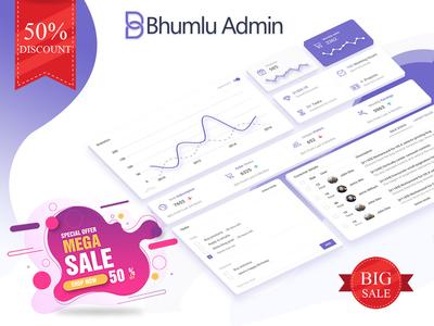 Big sale Bhumlu Admin Template