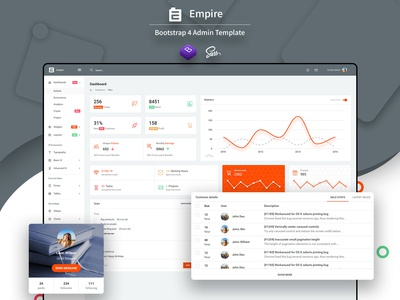 Empire Admin Template