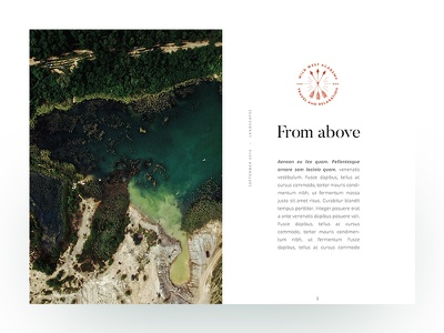 From above website ux ui photo minimal header amsterdam editorial daily dose of design clean