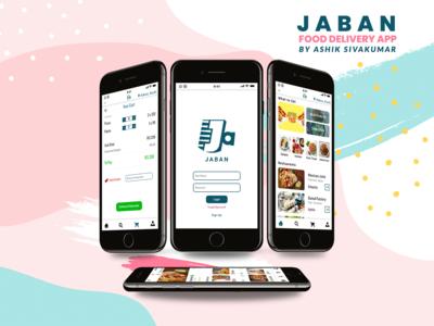 JABAN Food Delivery App