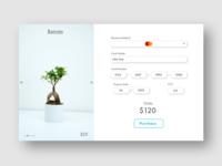 DailyUI#002 Credit Card Checkout