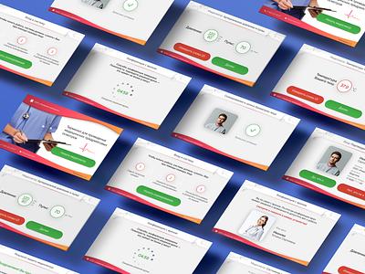 Telemedicine web interaction design interface xd ui healthcare telemedicine