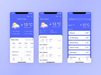 Weather App ios design app design app ui minimalist weather app weather mobile design mobile app design mobile app mobile daily ui ios app design ios app app ios