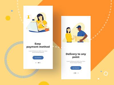 "Illustrations set free - "" E-commerce"" set web ui art artist flat vector illustrator illustration design character freebie free"