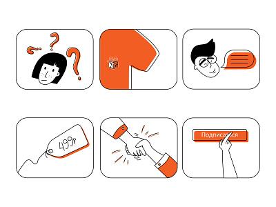 Icons menu icon set price hand question iconography menubar draw art web minimal ui artist flat character vector illustrator illustration design icon