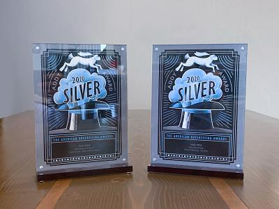 Award Winning - ADDY Awards 2020 blue continuouscomposites cf3d silver design marketing identity logo award winning addy awards addy historik
