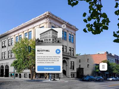 Historik Full Time augmented reality ar application mobile app history startup behistorik historyrediscovered historik