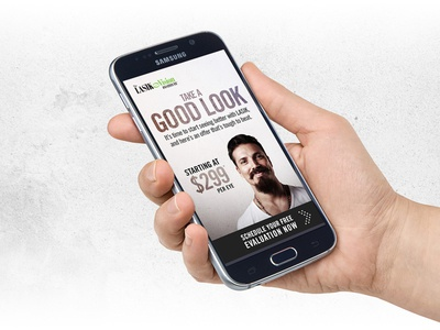 LASIK Email Creatives mobile marketing email creative creative email lasik