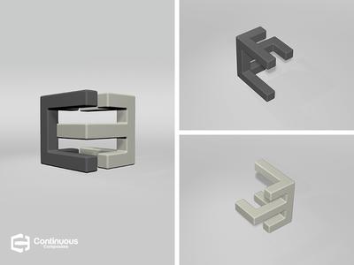 Continuous Composite 3D Mark