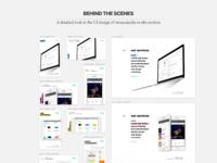 Cm website ui design img