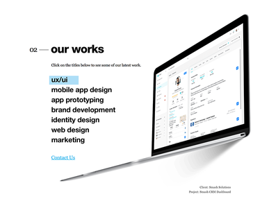 Crooz.Media Website Teaser Design