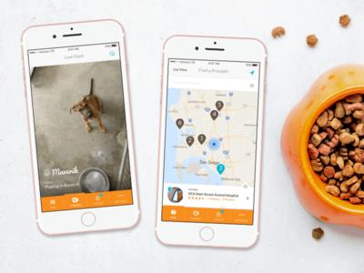 CamCare Live Streaming Pet App