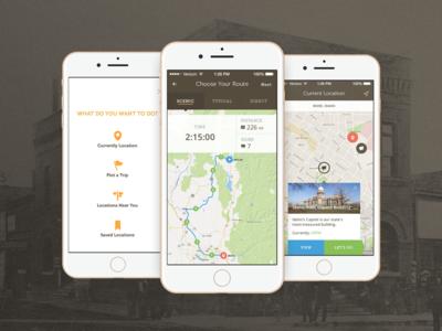 Scenic Viewer - GPS History App