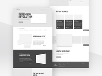 Continuous Composites Website v2 - Home Wireframing