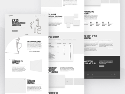 Continuous Composites Website v2 - Technology Wireframing