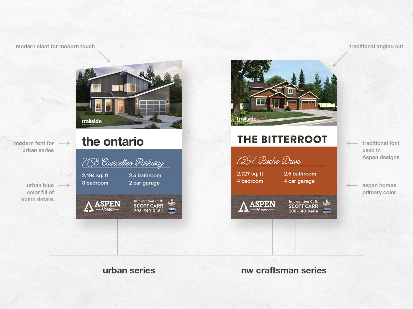 Development Site Signs design identity signage neighborhood house housing development sign site sign
