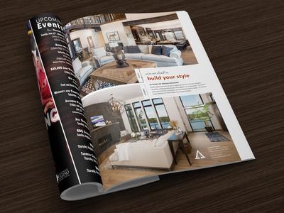 Rustic / Modern Ad - Aspen Homes