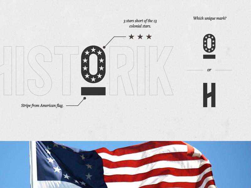 Historik Mark Exploration icon illustration design identity app