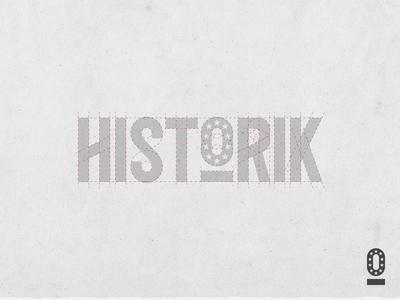Historik Custom Logotype