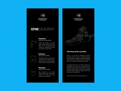 Continuous Composites - One Solution Rack Cards