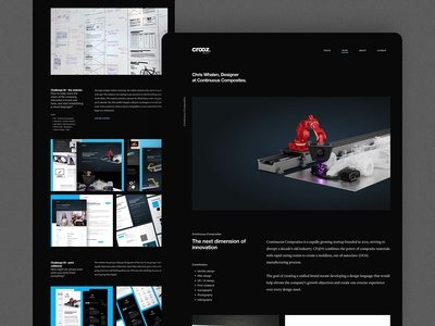 WIP: Personal Website Project Page
