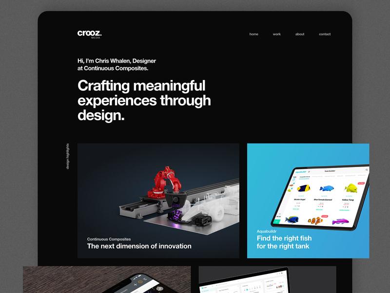 Personal Portfolio Website Preview