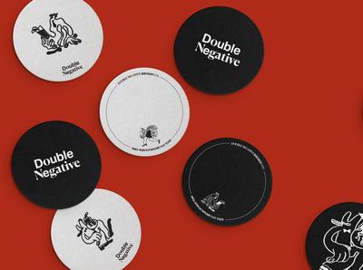 Double Negative Coaster Design