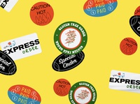 The Good Brothers Pizza Stickers