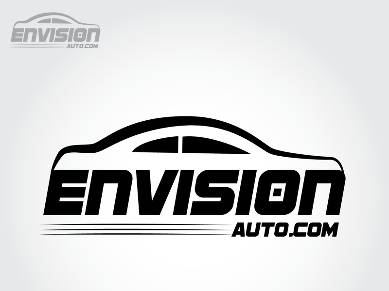 Envision vector deisgn illustration logo dribbble branding design