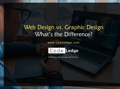 Web Design vs  Graphic Design What is the difference min