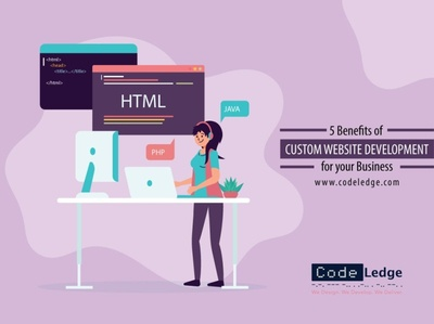 5 Benefits of Custom Website Development for your Business