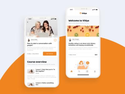 Learning Platform App UI