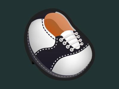 Saddle Shoe shoe icon
