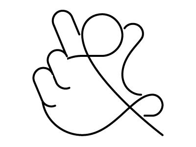 Handpersand ampersand illustration bad idea