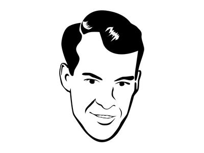 Gordie Howe illustration icon hockey gordie howe