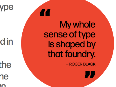 Round Quote pull-quote round rejected