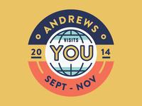 Andrews Badge