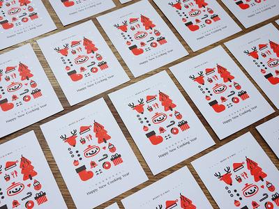 iCook Postcard Design