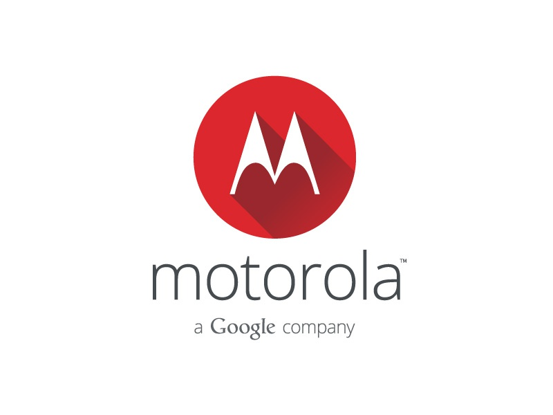 Google's Motorola Logo Facelift google motorola logo facelift classic logo redesign corporate long shadow