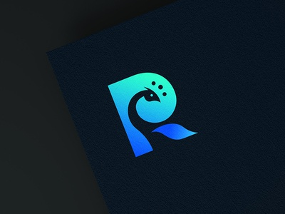 R Brandmark bird animal r photography logo identity branding