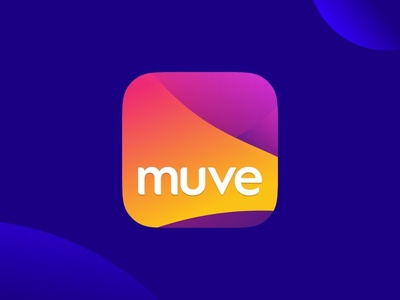 Muve App Icon android ios abstract move taxi icon app